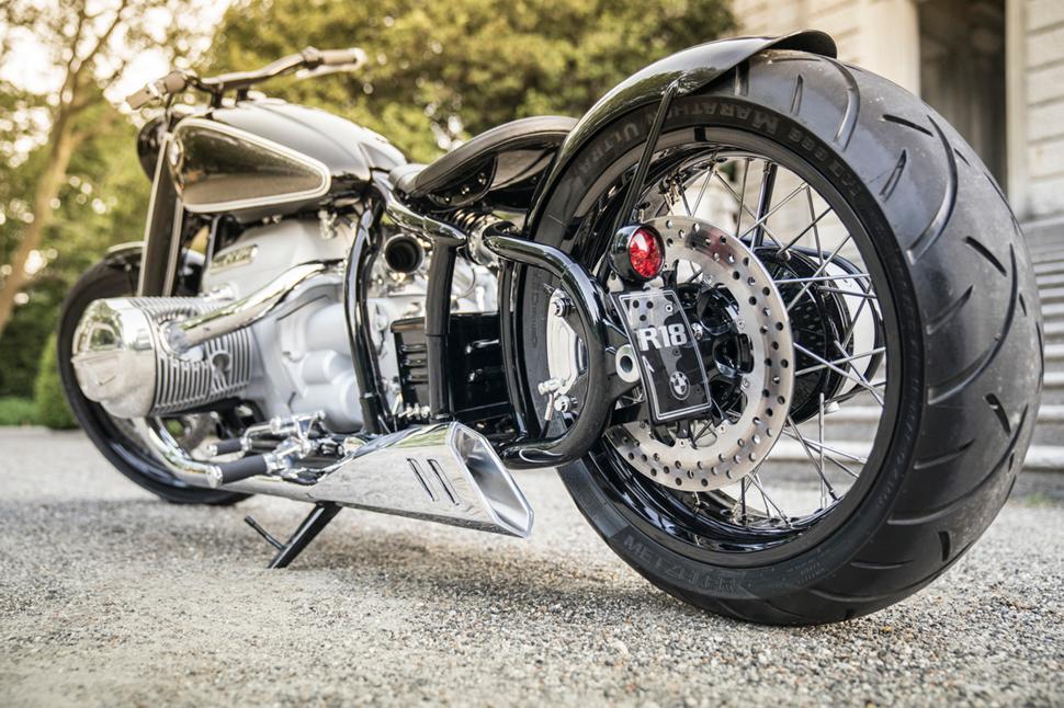BMW Motorrad Concept R18. Назад в будущее.