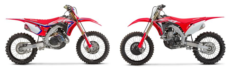 Honda CRF450WE и CRF450 2020