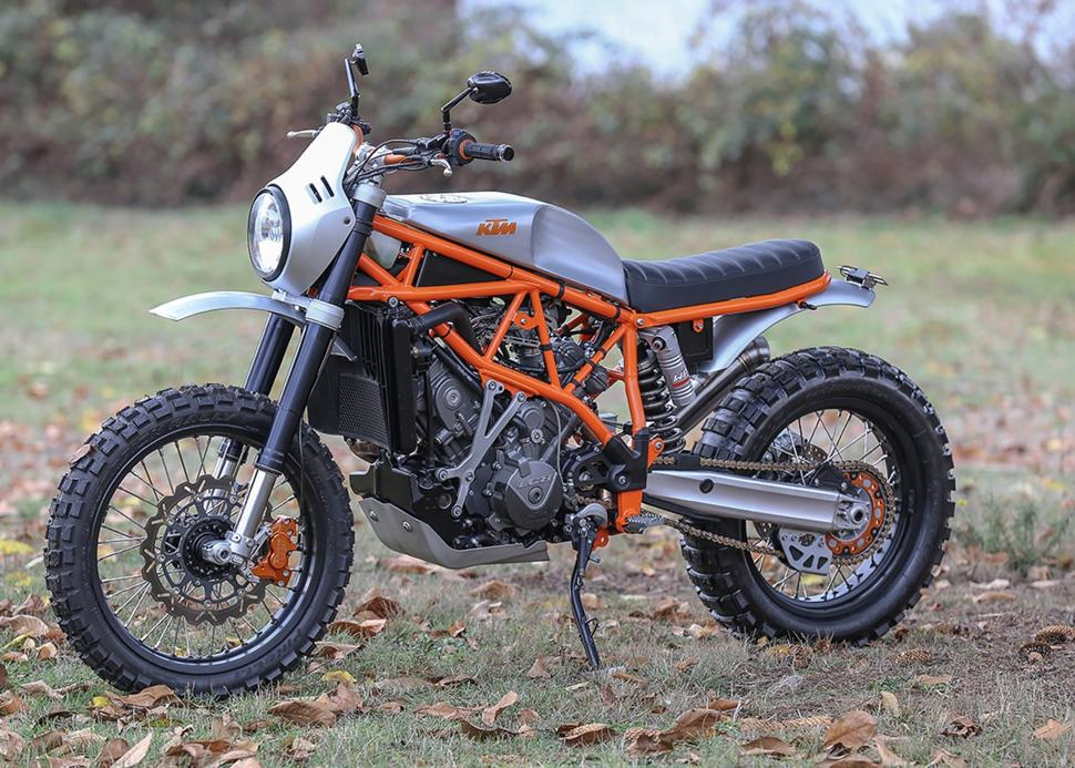 Кастом KTM 950 Super Enduro