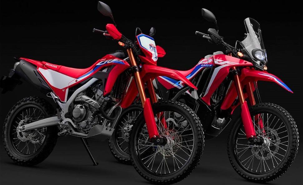 Honda CRF250L 2021 и Honda CRF250 Rally 2021