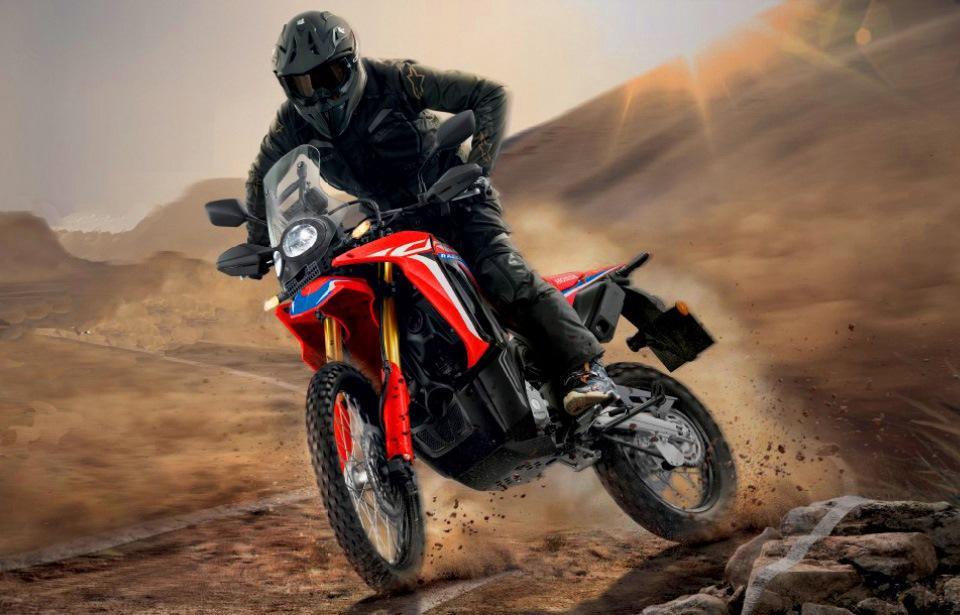 Honda объявила о выпуске CRF300L и CRF300 Rally 2021