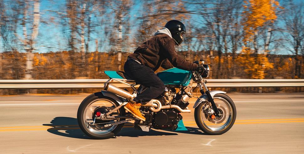 Кастом Yamaha XV920R