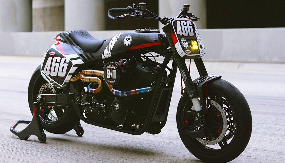 Harley Davidson Softail Standard с карбоновой вилкой