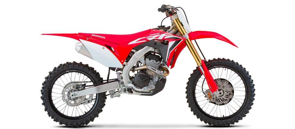 Кроссовый мотоцикл Honda CRF250R 2021