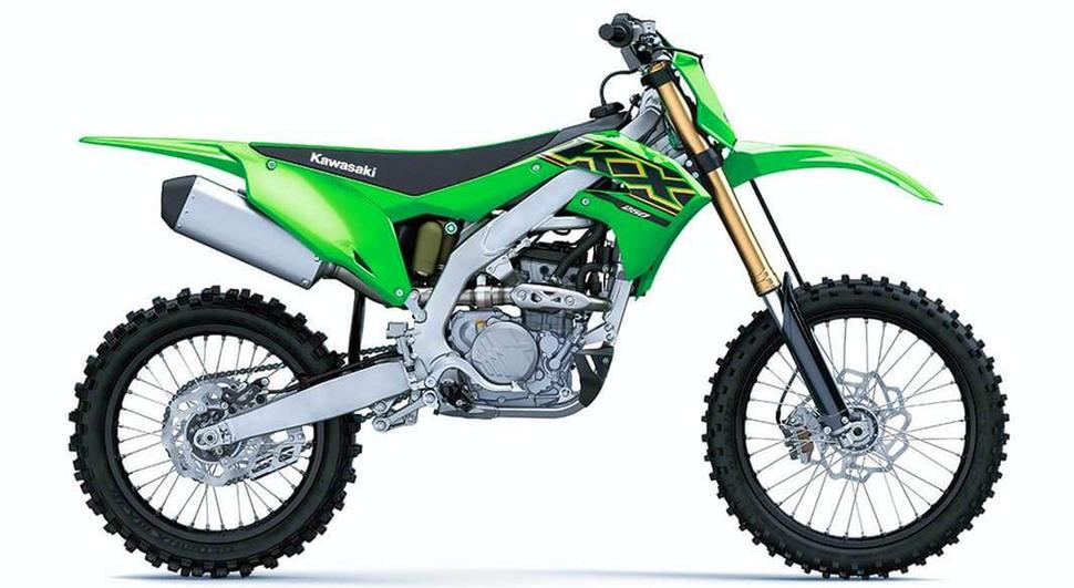 Кроссовый мотоциклKawasaki KX250 2021