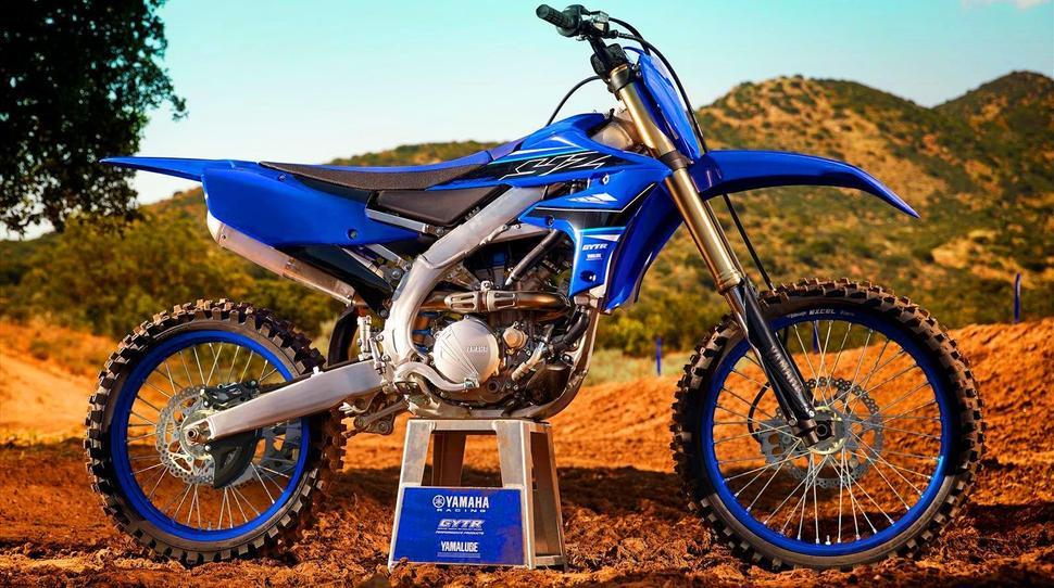 Кроссовый мотоциклYamaha YZ250F 2021