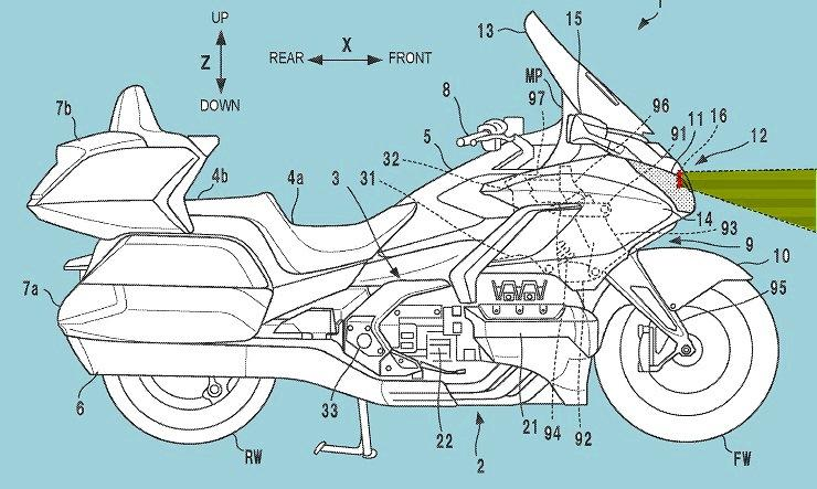 Honda с радаром