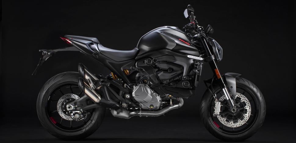Ducati Monster 2021 и Ducati Monter + 2021. О революции технологий
