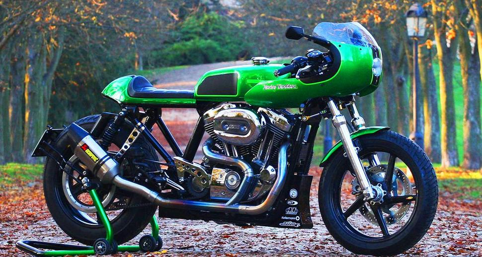 Кафе-рейсер из Harley Davidson Sportster 2007