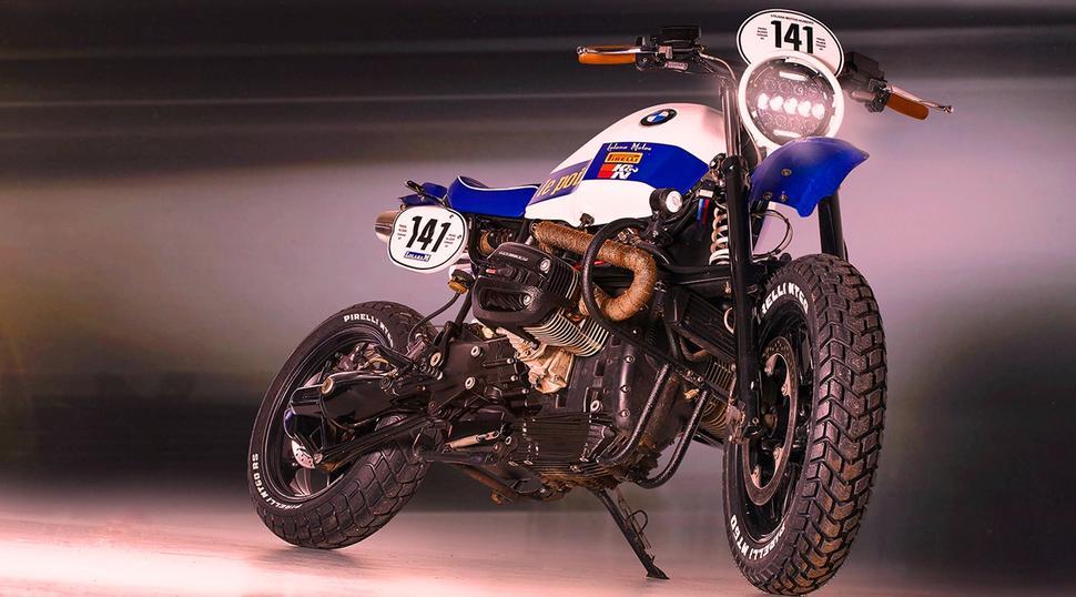 Современный BMW R 1150 R в Dakar GS родом из 80-х