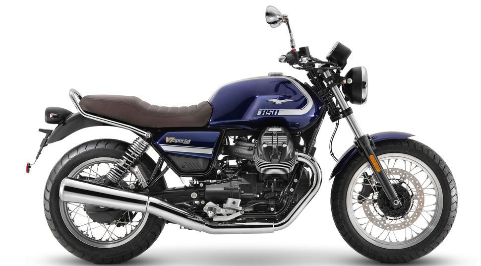 Полностью новый Moto Guzzi V7 2021