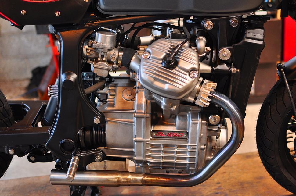 Honda GL500 Silver Wing. Уникальный кастом от новичка