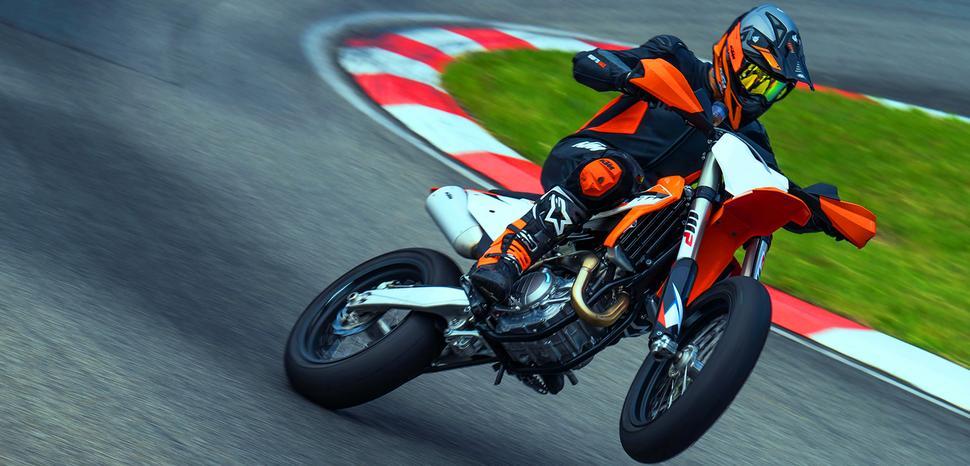 Тест супермото KTM 450 SMR 2021