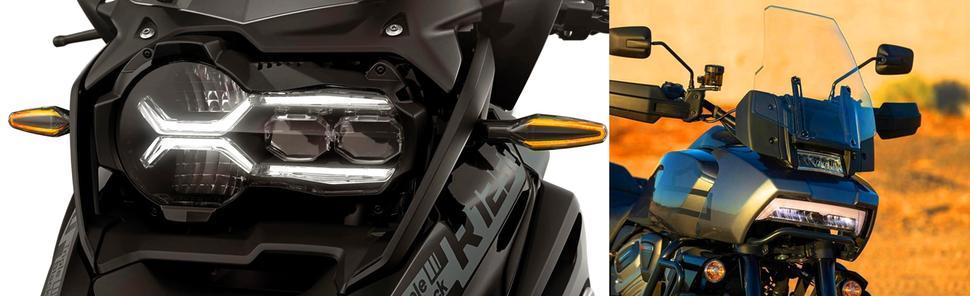 BMW R 1250 GS и Harley Davidson Pan America