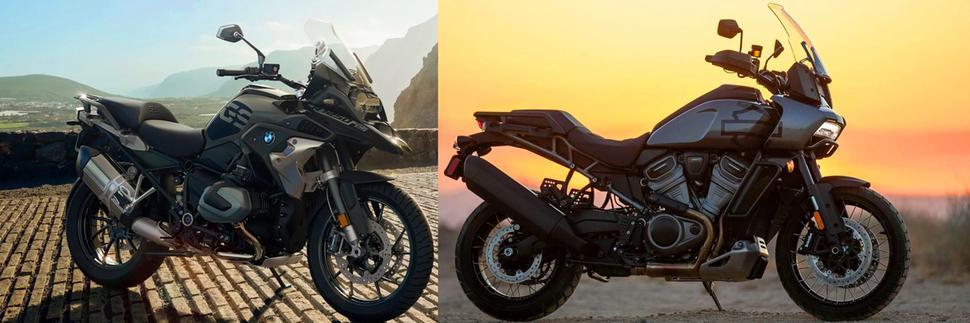 Harley Davidson Pan America и BMW R 1250 GS