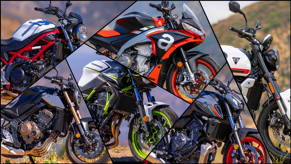 Отзыв о шести нейкедах Suzuki Honda Kawasaki Yamaha Aprilia Triumph