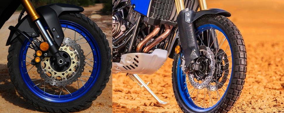 Yamaha Tenere 700 и super Tenere 1200 2021. Сравнительный тест