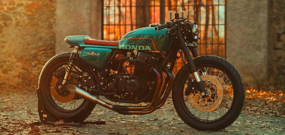 Кафе-рейсер Honda CB750F 1978