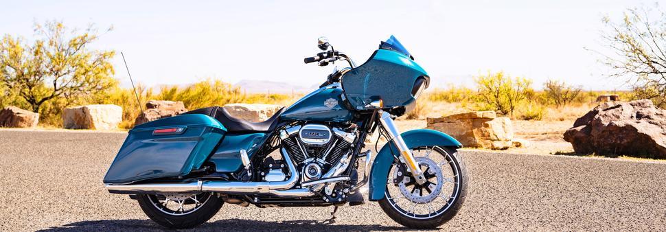 Про обновленные туристические мотоциклы Harley Davidson 2021