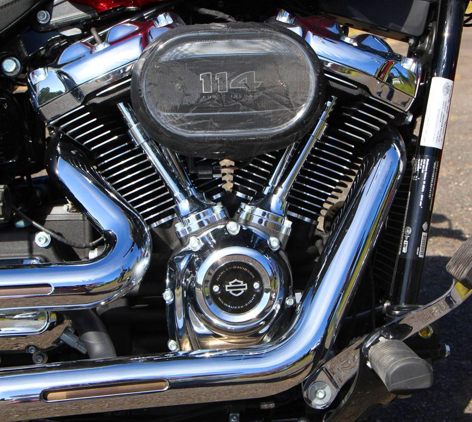 Двигатель Milwaukee-Eight 114