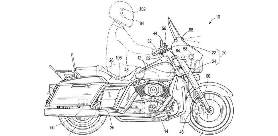 Адаптивный круиз-контроль для Harley Davidson