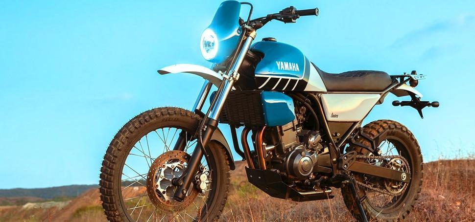 Кастом Yamaha XT660 2007