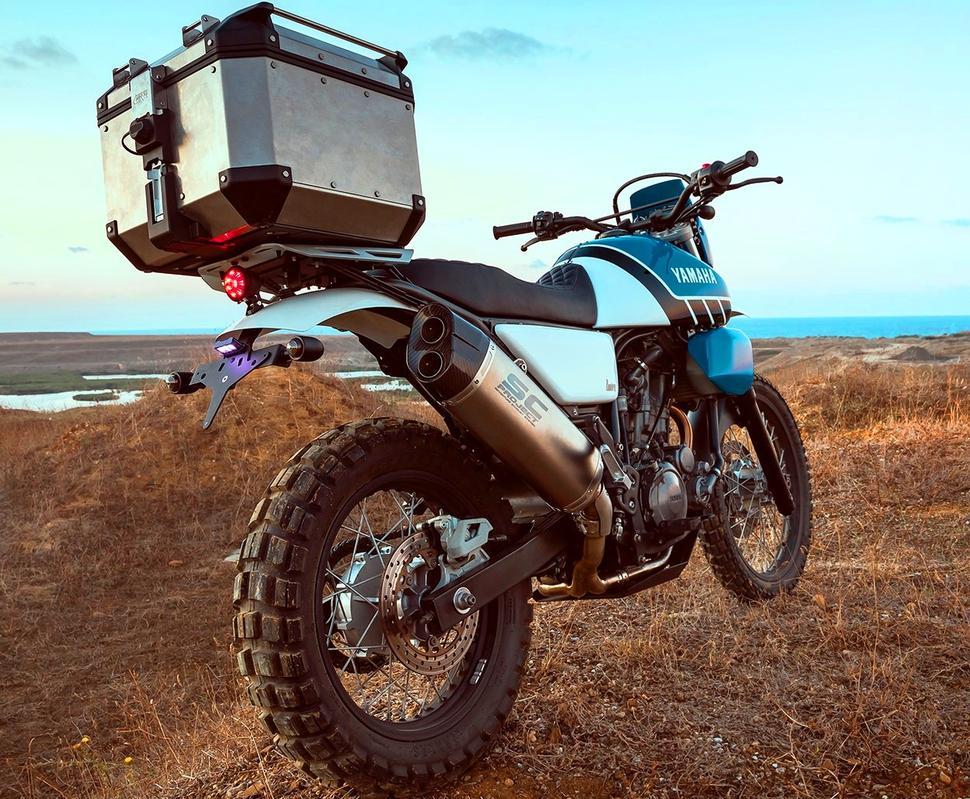 Кастом Yamaha XT660