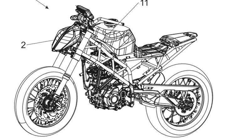 Новая патентная заявка от KTM подбросила дров в пламя сплетен